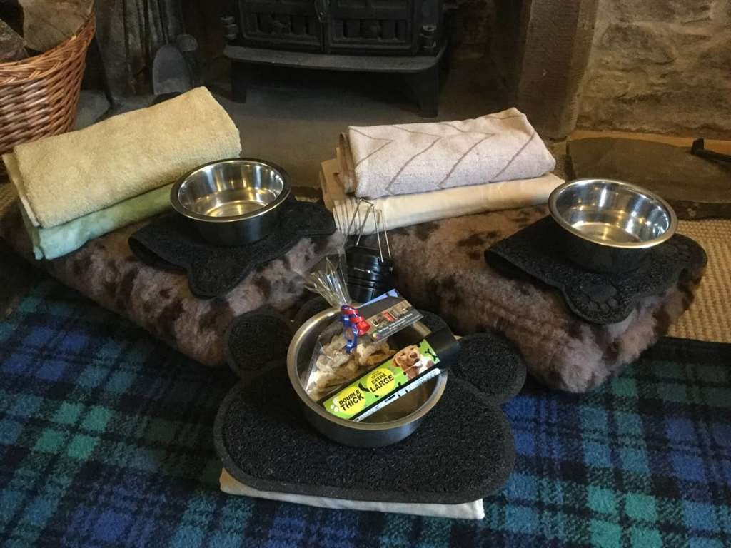 Dean Cottage Doggy Welcome pack
